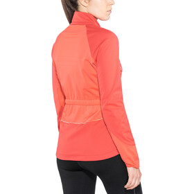 Odlo Zeroweight Windproof Warm Jacket Damen hibiscus